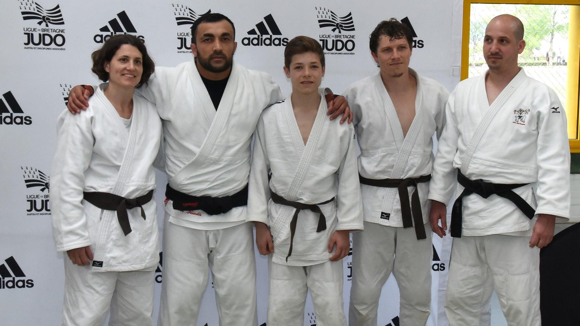 Certains cantépiens ont eu la chance de partager un entraînement avec le champion olympique et triple champion du monde Ilias Iliadis