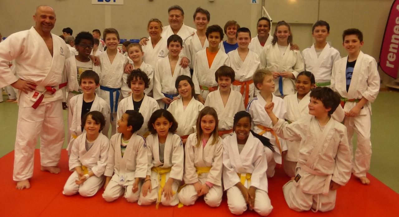 Les jeunes judokas cantépiens ont eu la chance de rencontrer quelques-uns de nos champions olympiques de Judo (Lucie Decosse, Cécile Novak, Marc Alexandre et Angelo Parisi)